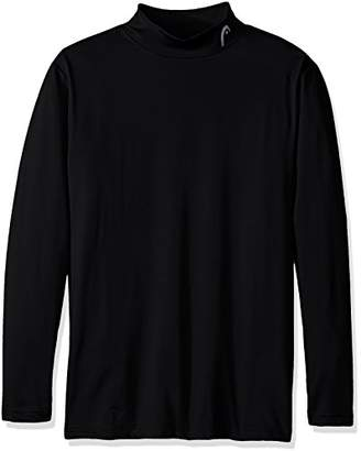 Head Men's Long Sleeve Training Mock Neck Top