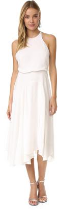 Halston Heritage High Neck Dress $345 thestylecure.com
