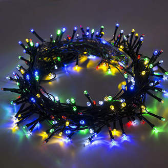 Asstd National Brand ALEKO 200 LED Solar Powered Holiday Christmas Decorating Fairy Party String Lights Lot of 2