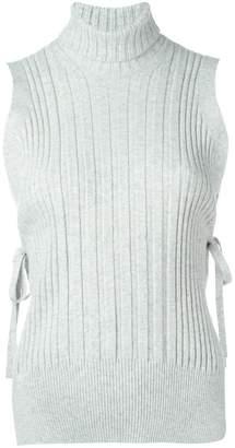 Maison Margiela ribbed sleeveless top