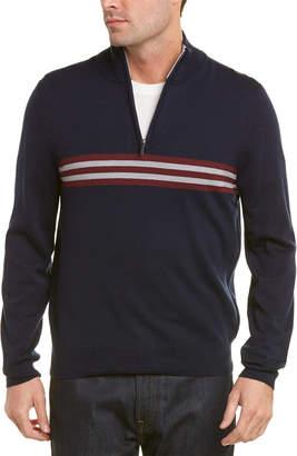 Brooks Brothers Wool 1/2 Zip Sweater
