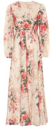 Zimmermann Laelia floral linen maxi dress