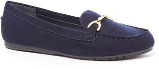 Tu Clothing Sole Comfort Navy Loafers