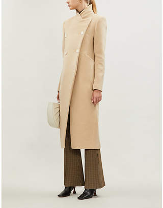 Camilla And Marc Cassidy fitted wool-blend coat