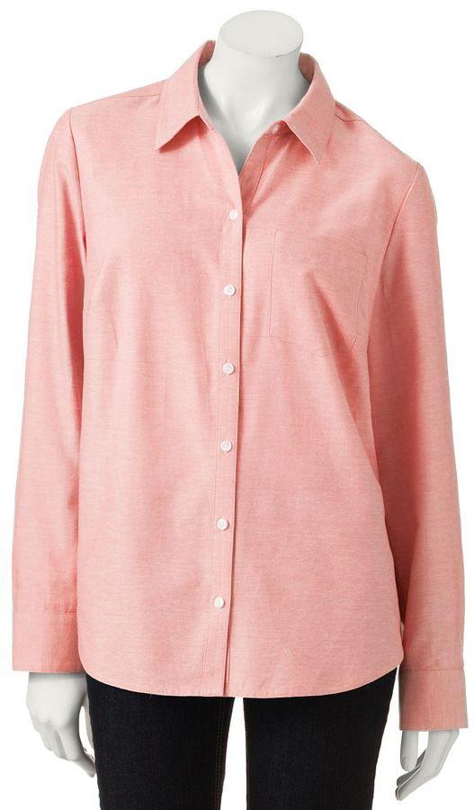 Croft & barrow ® oxford shirt