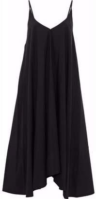 Alexander Wang Pleated Cotton-Poplin Midi Dress