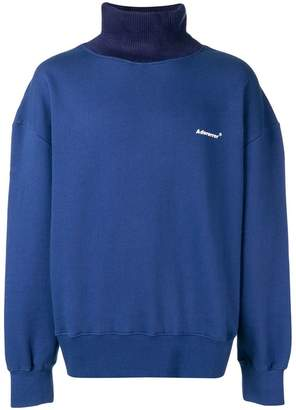 Ader Error stand-up collar jumper