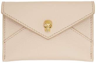 Alexander McQueen Pink Envelope Card Holder