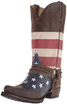 Roper Men's American Biker Harness Boot
