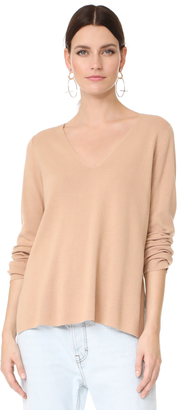 T by Alexander Wang Milano Knit V Neck Sweater