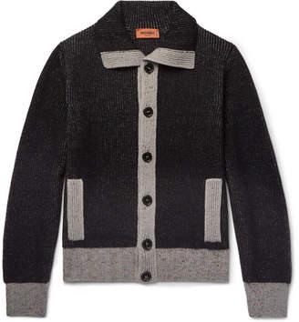 Missoni Contrast-Trimmed Wool Cardigan - Men - Black