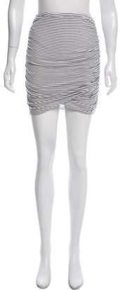 Rachel Pally Ruched Mini Skirt
