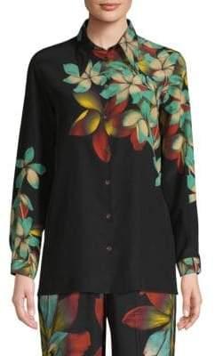 Etro Silk Floral Blouse