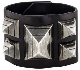 Givenchy Studded Leather Bracelet