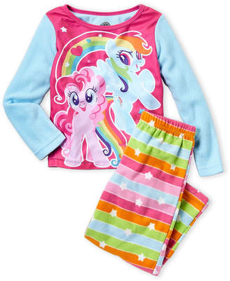 2156d230b2 My Little Pony Girls 7-16) 2-Piece Character Print Shirt and Pant