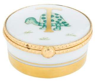 Tiffany & Co. Le Tallec Turtle Trinket Box