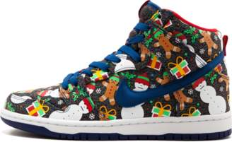 Nike SB Dunk High TRD QS 'Ugly Christmas Sweater' - Blue Ribbon