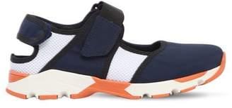 Neoprene & Mesh Strap Sneakers