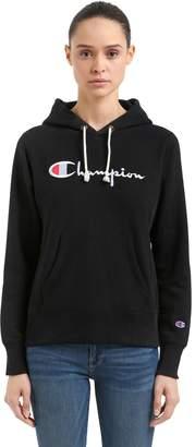 Champion Hooded French Terry Sweatshirt W/ Logo