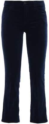 J Brand Selena Velvet Bootcut Trousers