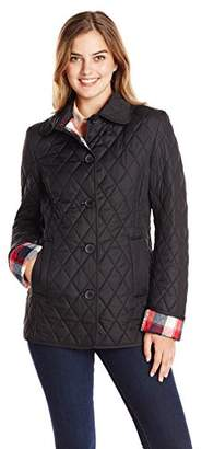 Tommy Hilfiger Women's Classic Quilted Jacket $63.05 thestylecure.com