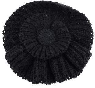 Sonia Rykiel Oversized Knit Flower Brooch