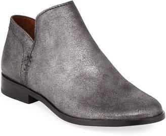 Frye Elyssa Short Metallic Leather Booties