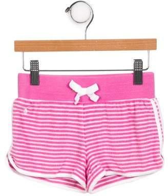 Ralph Lauren Girls' Striped Shorts