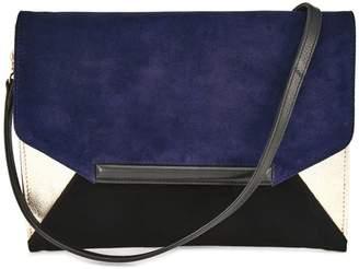 Cosmo Paris COSMOPARIS KOMINI Leather Clutch
