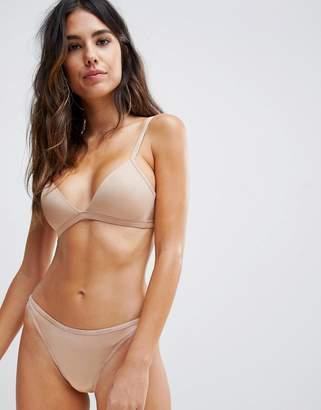 Calvin Klein lightly lined triangle bra