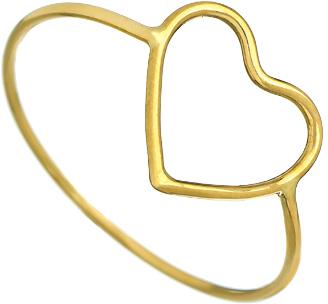 Ariel Gordon Delicate Heart Silhouette Ring