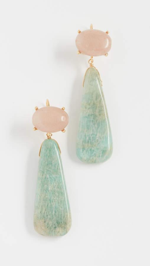 Theia Jewelry Isadora Double Drop Earrings