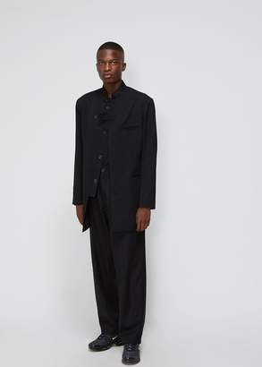 Yohji Yamamoto Gabardine Stand Collar Jacket