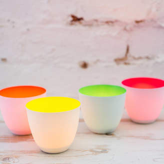 Bonnie and Bell Porcelain Tea Lights, Neon