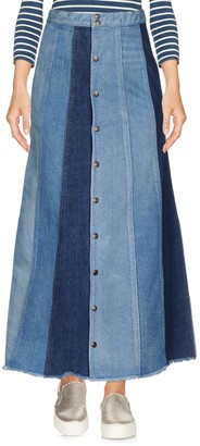 Saint Laurent Denim skirts