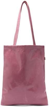 Farah SIES MARJAN crinkle-laminated vinyl tote bag