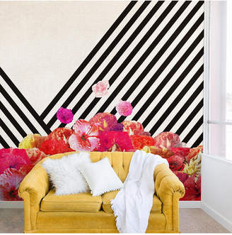 Deny Designs Bianca Green Floraline II Wall Mural