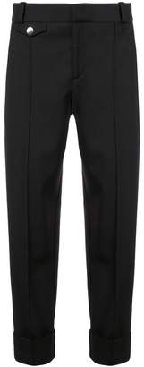 Proenza Schouler Wool Suiting Tapered Pants