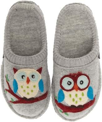 Haflinger 'Olivia' Owl Slipper
