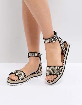 Asos DESIGN JUNCTION Sandal Espadrilles