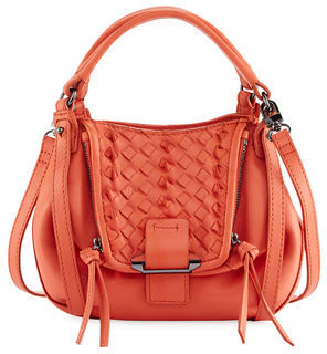 Kooba Jonnie Mini Woven Crossbody Bag $195 thestylecure.com