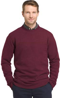 Arrow Big & Tall Classic-Fit Sueded Fleece Crewneck Sweater