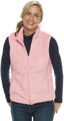 Croft & Barrow Women's Fleece Vest