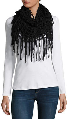 MIXIT Mixit Fringe Infinity Cold Weather Scarf