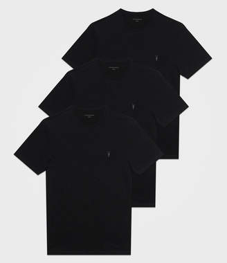 AllSaints Brace Tonic Crew T-Shirt 3 Pack