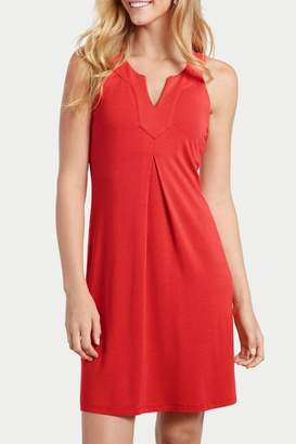 Tommy Bahama Tambour Notch Neck Dress