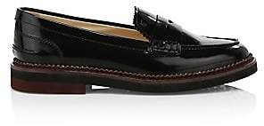 Tod's Women's Light Rubber Sole Loafers