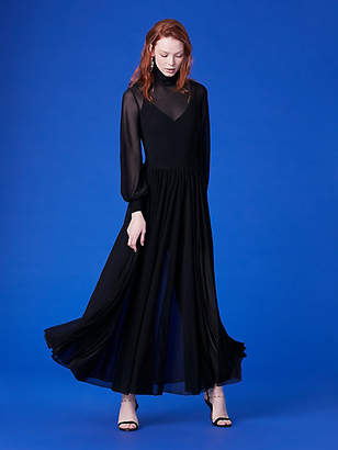 Diane von Furstenberg High Neck Maxi Dress