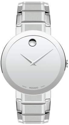 Movado Sapphire Bracelet Watch, 39mm