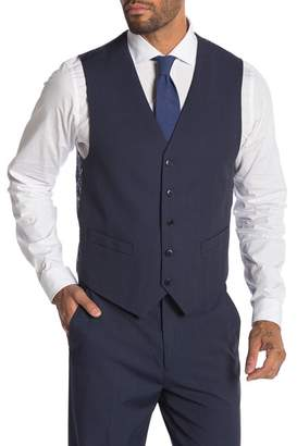 Nautica Destin Windowpane Five-Button Vest